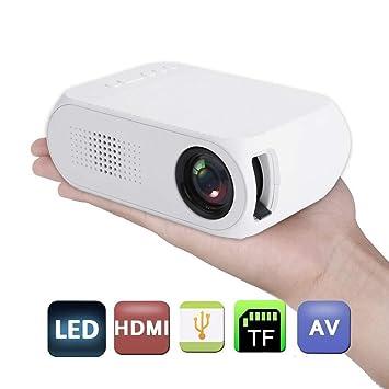 El Proyector LED Portátil HD 1080P Puede Leer Disco U, Tarjeta TF ...