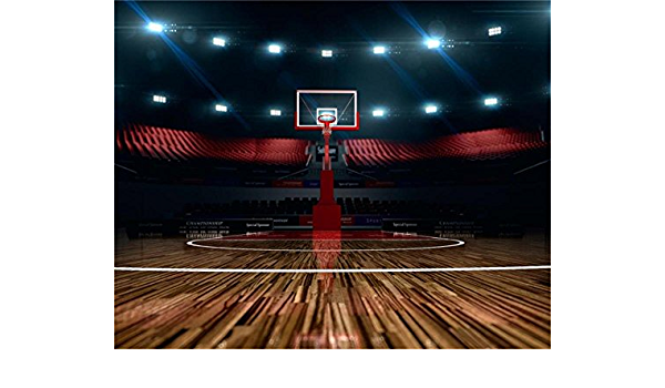 10x15FT Red Brick Wall Basketball Playground Photography Backdrops Sport Photo Studio Background