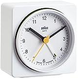 Braun BNC011WHWH Classic Alarm Quartz Alarm Clock