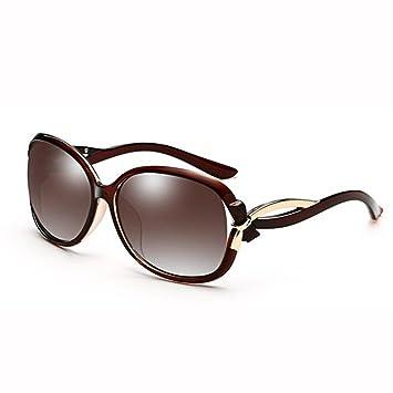 WX xin Sra Gafas De Sol Cara Redonda Polarizado UV 400 Lente ...