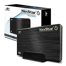 Vantec 3.5-Inch SATA 6GB/s to USB 3.0 HDD Enclosure, Black (NST-366S3-BK)