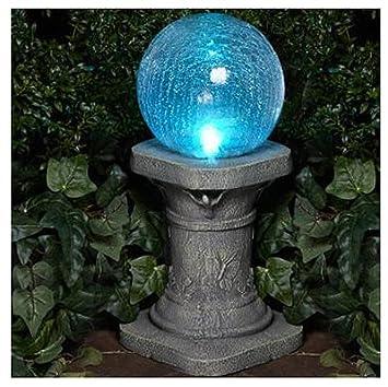 Glass Solar Gazing Ball