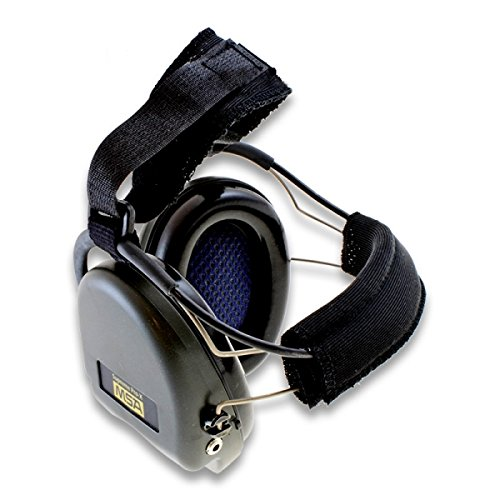 MSA Sordin Supreme Pro X with black cups - Neckband - Electronic Earmuff, slim-design
