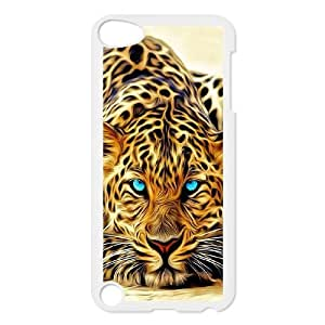 The king of beasts Tiger Hard Plastic phone Case Cover+Free keys stand FOR Ipod Touch 5 ZDI039957