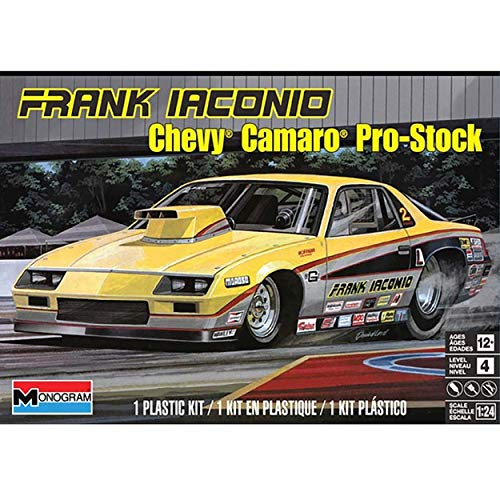 Monogram Frank Iaconio Camaro Pro Stock Model Car Kit