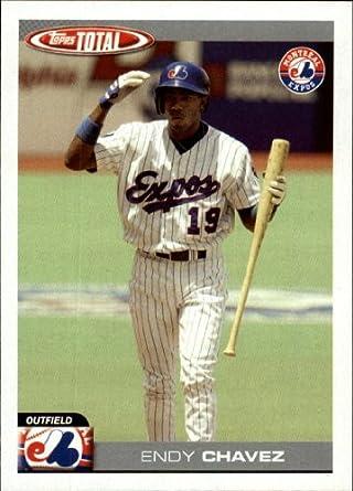 Amazoncom 2004 Topps Total Baseball Card 423 Endy Chavez