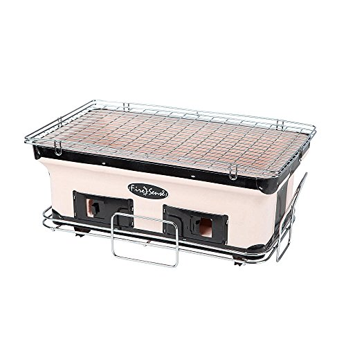 Handmade clay construction Charcoal Grill Model# 60450 by Fi