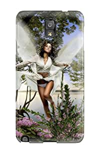 Awesome DGHsNGa3229IsprX NicoleGrout Defender Tpu Hard Case Cover For Galaxy Note 3- Fairy Fantasy Abstract Fantasy