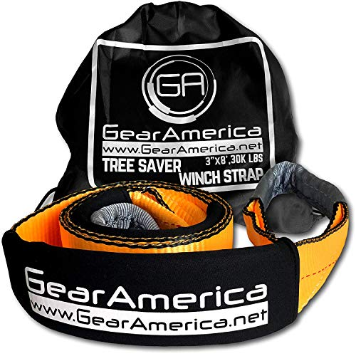 - GearAmerica Tree Saver Winch Strap 3