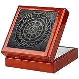 CafePress - The 100 - 13Th Clan Skaikru - Keepsake Box, Finished Hardwood Jewelry Box, Velvet Lined Memento Box