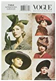 Vogue Patterns V7464 Vintage Hats