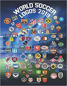 World Soccer Logos 2019: With over 150 logos to color in