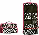 Hot Pink Trim Zebra Hanging Cosmetic Bag * the Greatest Bag for Travel! *, Bags Central