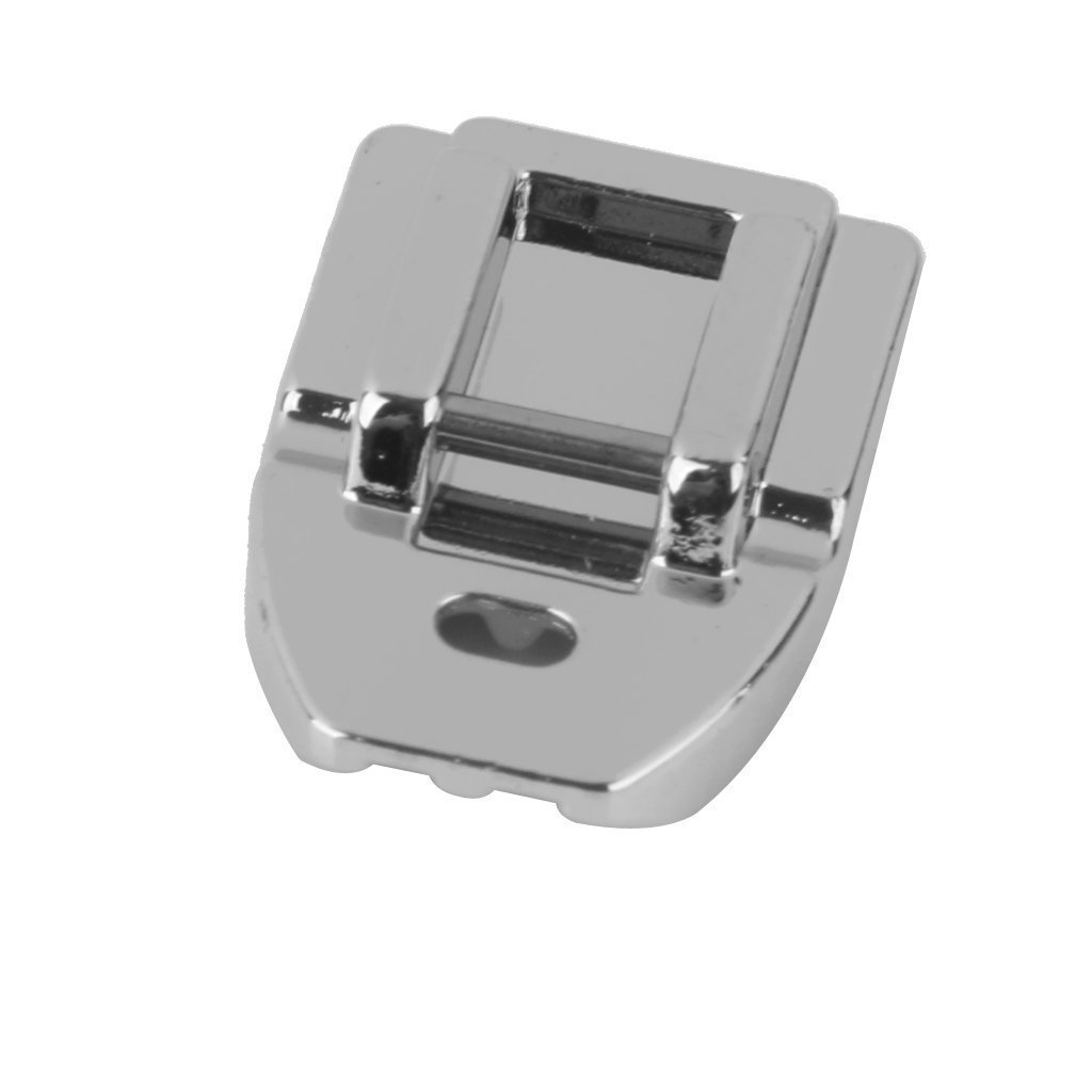 Cleana Arts Concealed Invisible Zipper Sewing Machine Presser Foot - Fits All Low Shank Snap-On Singer*, Brother, Babylock, Euro-Pro, Janome, Kenmore, White, Juki, New Home, Simplicity, Elna and More! PF009