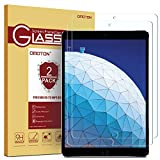 OMOTON [2 Pack] Screen Protector for iPad Air 3 10.5 inch 2020 / iPad Pro 10.5 - Tempered Glass/Apple Pencil Compatible/Scratch Resistant