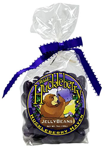 Huckleberry Haven Wild Huckleberry Jelly Beans 7 Oz by HUCKLEBERRY HAVEN