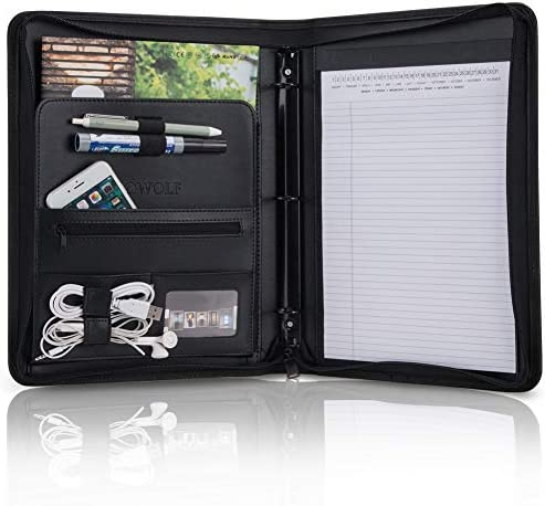 OOWOLF Portfolio Professional Interview Organizer product image
