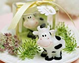 Red cherry cute cow kids birthday candles
