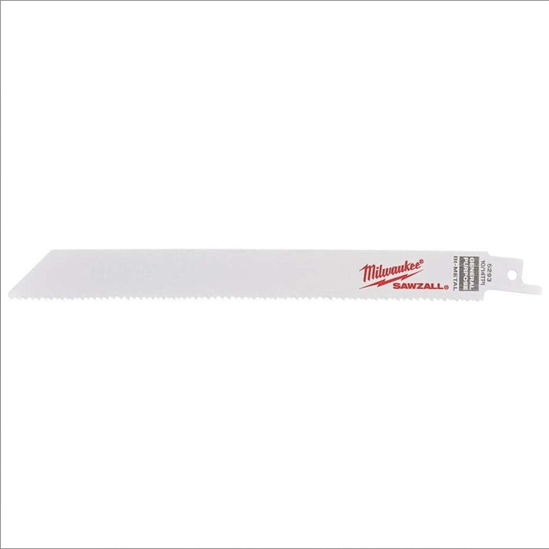 5-pack Sable universal hoja de sierra bi-metal co 200//2.5//1.8 mm Milwaukee