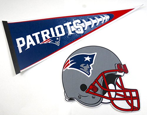 New England Patriots Wall Pennant - New England Patriots, Super Bowl, Wall Decor, One 17