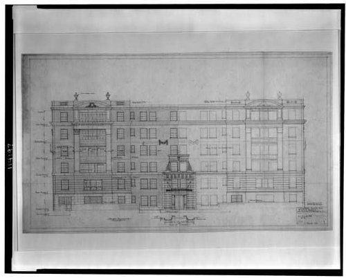 Photo: Apartment Building,M & RB Warren,2540 Massachusetts - Zon Spa
