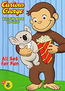 Amazon.com: Curious George Coloring and Activity Book Set (2 ...