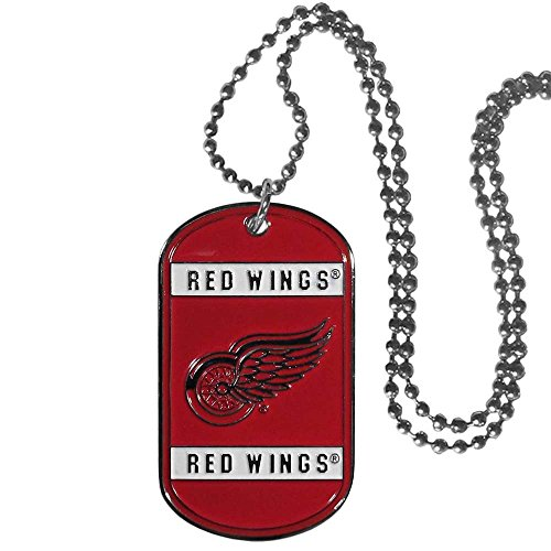(Siskiyou NHL Detroit Red Wings Neck Tag Necklace, 26