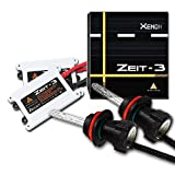 Afterpartz Zeit-3 35W AC HID Xenon Conversion Kit Headlight Bulbs with 2 Bulbs and 2 Ballasts, H8 H9 H11 - 8000K