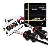 AFTERPARTZ Zeit-3 35W AC HID Xenon Conversion Kit Headlight Bulbs with Premium Slim Ballasts, 2 Bulbs & 2 Ballasts, 2 Years Warranty, 8000K, H8 H9 H11