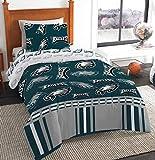 Northwest NFL Philadelphia Eagles Bed in a Bag Complete Bedding Set, Twin #27942646