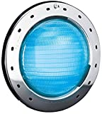 Zodiac CSLVLEDS50 WaterColors 12-Volt LED Pool and Spa Light with Stainless Steel Face Ring, 50-feet Cable, Small