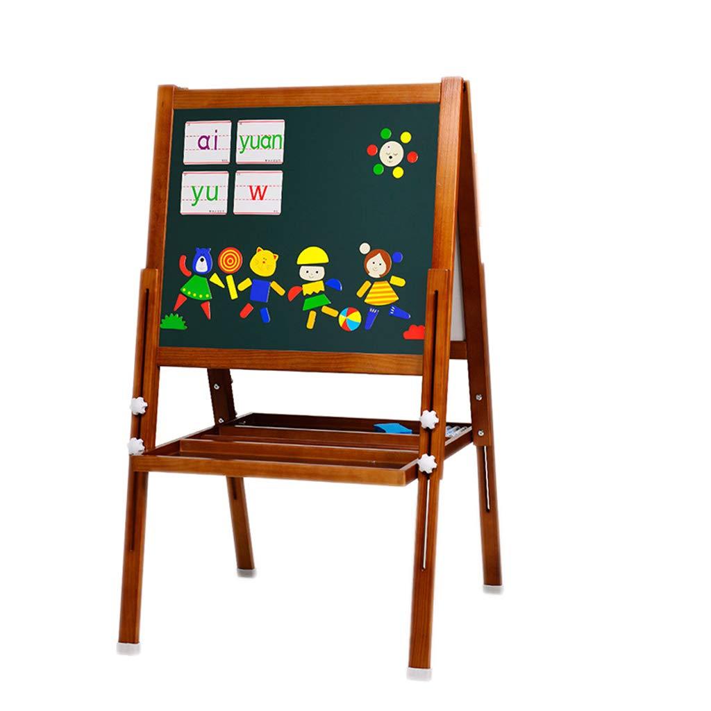 Cavalletto da disegno a colorei magnetico per lavagna da disegno per bambini (colore   Marronee)