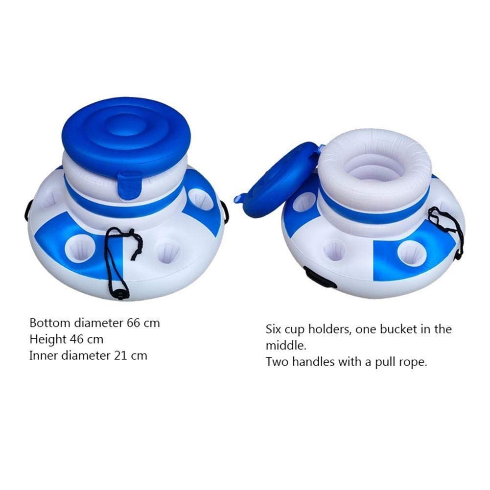 Amazon.com: TYUIO - Enfriador de bebidas inflable para ...