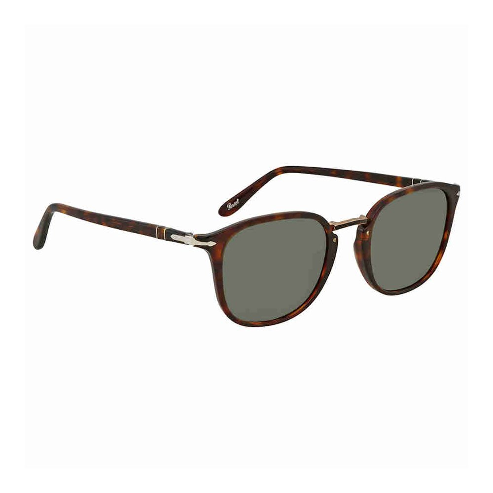 072a1afcc5 Amazon.com  Persol PO3186S 24 31 Havana PO3186S Round Sunglasses Lens  Category 3 Size 51mm  Persol  Clothing