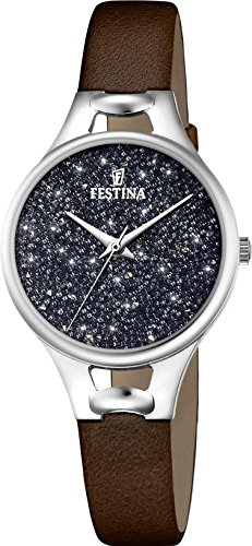 Festina Mademoiselle F20334/3 Wristwatch for women With Swarovski crystals