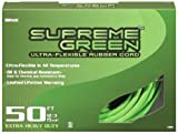 Woods 4305 12/3 Ultra-Flex Rubber SJOW Extension Cord, 50-Foot, Supreme Green