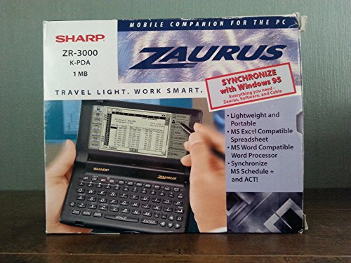 Zaurus ZR 3000 Sharp ZR3000 ZAURUS