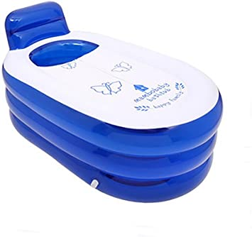 Amazon.com: Pota plegable durable Spa tina inflable para ...