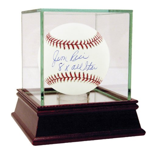 Jim-Rice-Autographed-MLB-Major-League-Baseball-with-8x-All-Star-inscribed-Case-is-NOT-Included