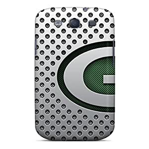 Samsung Galaxy S3 EAz11595DMhH Support Personal Customs Colorful Green Bay Packers Skin Best Cell-phone Hard Covers -CharlesPoirier