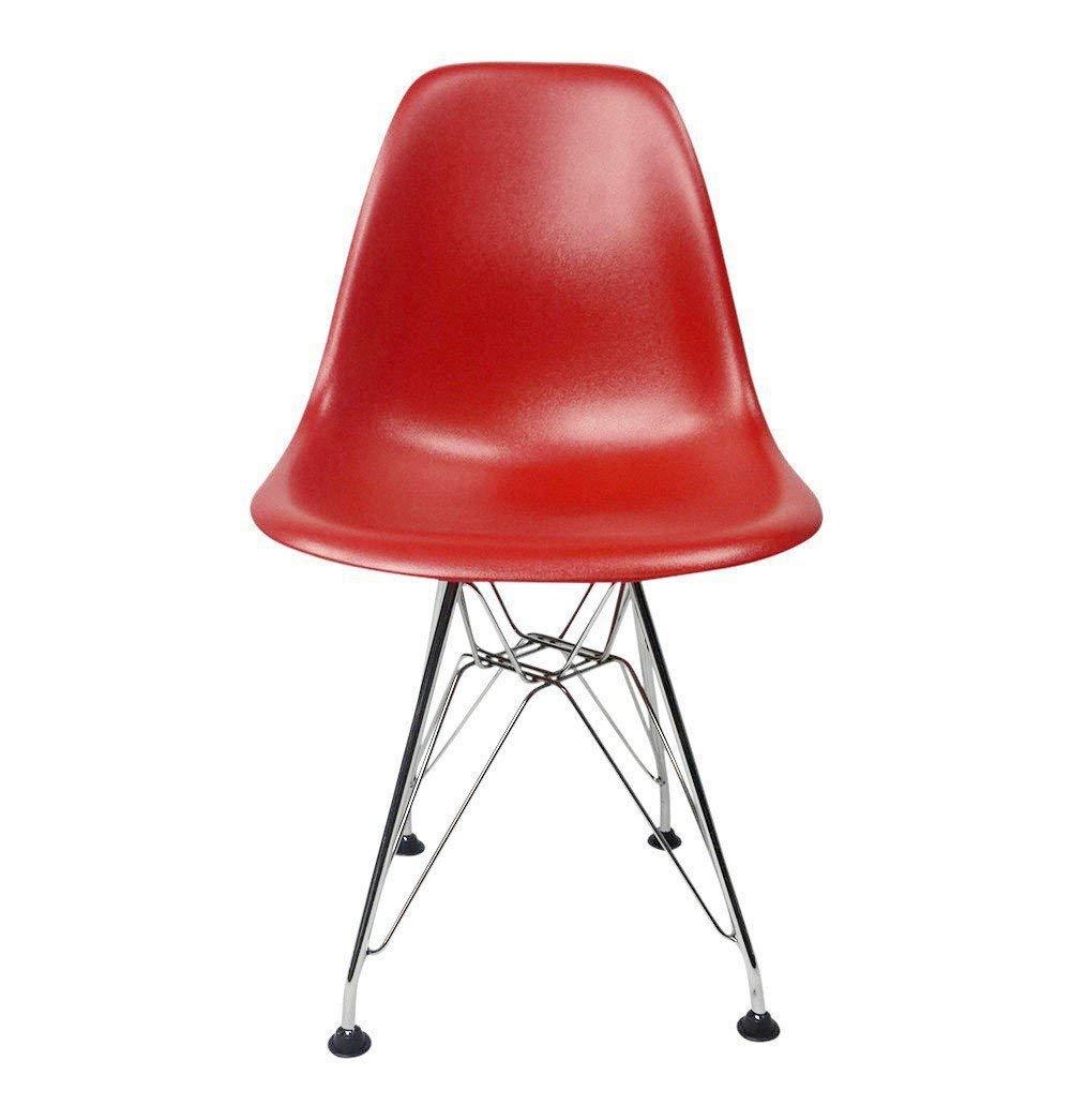 Eiffel DSR Chair for Kids Chrome Wire Legs Mid-Century Modern