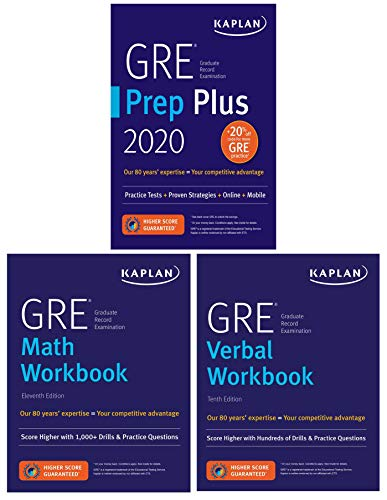 (GRE Complete 2020: 3-Book Set: 6 Practice Tests + Proven Strategies + Online (Kaplan Test Prep))