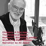 Obituary: A Fine Man...: The Reverend Doctor Herbert F. Brokering, Pastor | Peter Menkin
