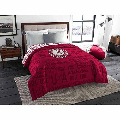 - Northwest NCAA Alabama Crimson Tide Anthem Twin/Full bedding, COMFORTER ONLY