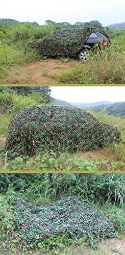Ghillie Suit Costume For Sale (Camouflage Netting Backyard Camouflage Window curtains Military fan Anti-aerial CS Decoration net 16.4' x 16.4')