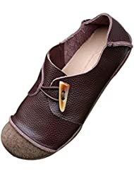 Mordenmiss Womens New Flat Round Toe Shoes