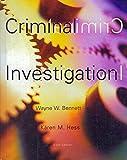 Criminal Investigation 9780534576554