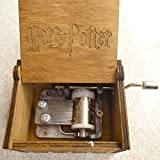 Music Boxes - Antique Carved Music Box Theme Game Thrones Harry Potter Star Wars Wooden Hand