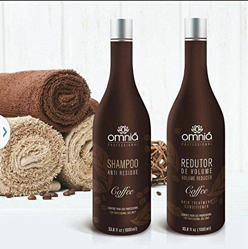 Omniá Coffee Hair Reducer Treatment Kit Formaldehyde Free PROMOTION! by Omniá