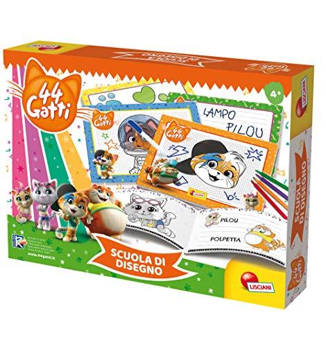 Liscianigiochi 76048 44 Gatti – Escuela de Dibujo, Multicolor